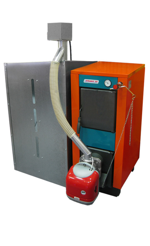 Dual fuel option from Central Boiler - Find Company and Product
