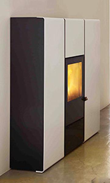 Hydro pellet stove for central heating mcz flux hydro 16 for Mcz flux prezzo
