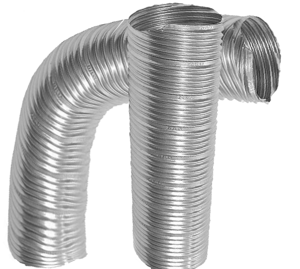Stainless steel flexible air duct
